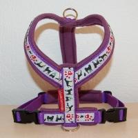 Hundesachen Gst�ltli violett